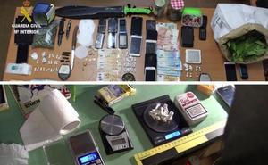 Golpe al tráfico y distribución de drogas en Coria y su comarca