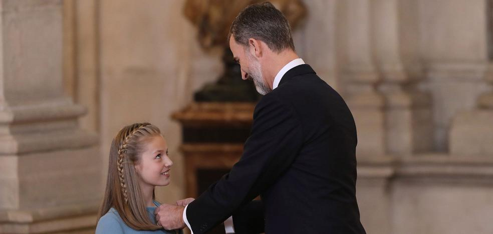 La Princesa hará su primera visita oficial a Asturias en septiembre