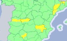La región está hoy en alerta amarilla por altas temperaturas