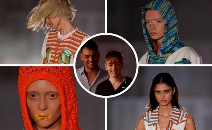 La nueva solección de Maria Ke Fisherman, en la Mercedes-Benz Fashion Week Madrid