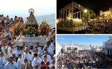 La bajada de la Virgen de la Montaña de Cáceres, la Semana Santa de Zafra y la Matanza de Llerena, de Interés Turístico Regional
