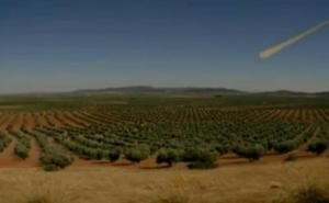 Un meteoro sobrevuela Extremadura