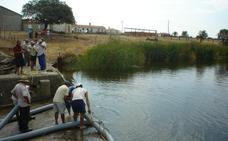Regantes de Las Fraguas en Campo Arañuelo quieren salir de Rosarito