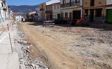 La Diputación invierte 313.000 euros en la mejora de dos importantes calles de Logrosán