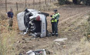 Extremadura registró 62 víctimas mortales en las carreteras en 2017