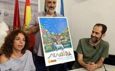Cartel colorido y lúdico para la feria de Mérida 2018