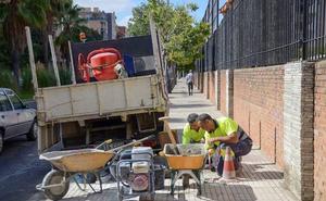 Badajoz aprueba una partida de 400.000 euros para reparar las aceras de la ciudad