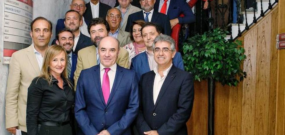 Mariano García, nuevo presidente de la Cámara de Comercio de Badajoz