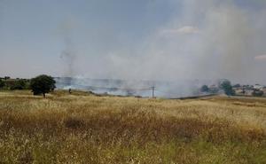 Estabilizado el incendio en Cáceres, por lo que se desactiva nivel 1 de peligro