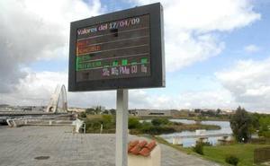 El ascenso de las temperaturas dispara el ozono en Extremadura