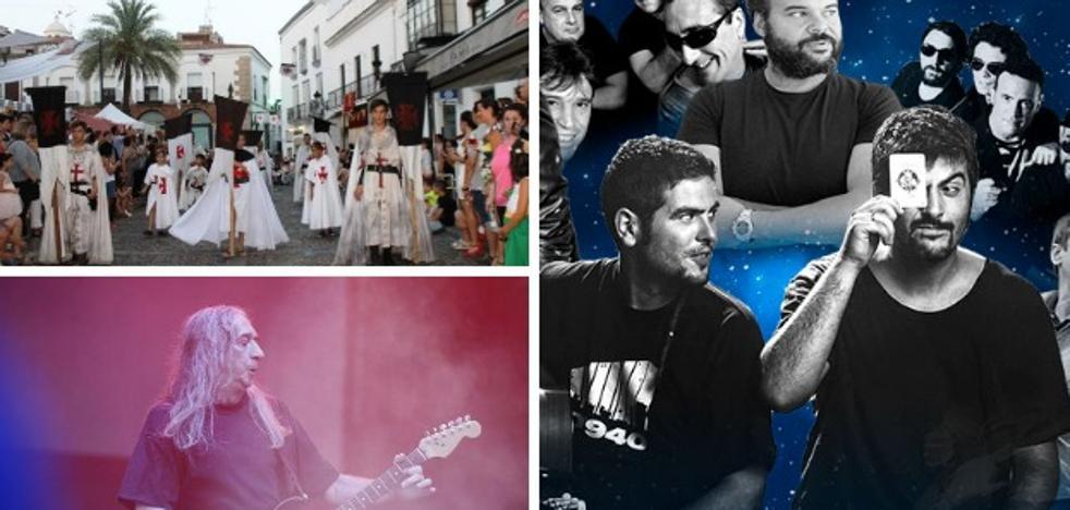 El rock y el pop se entremezclan con los Templarios