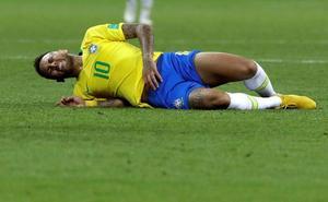 Las caídas de Neymar, de la A a la Z