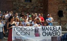 Concentración en Monesterio para recordar a Manuela Chavero