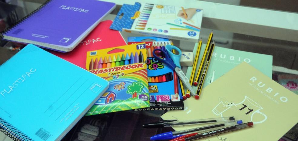 Educación destinará 500.000 euros a ayudas a material escolar en Infantil