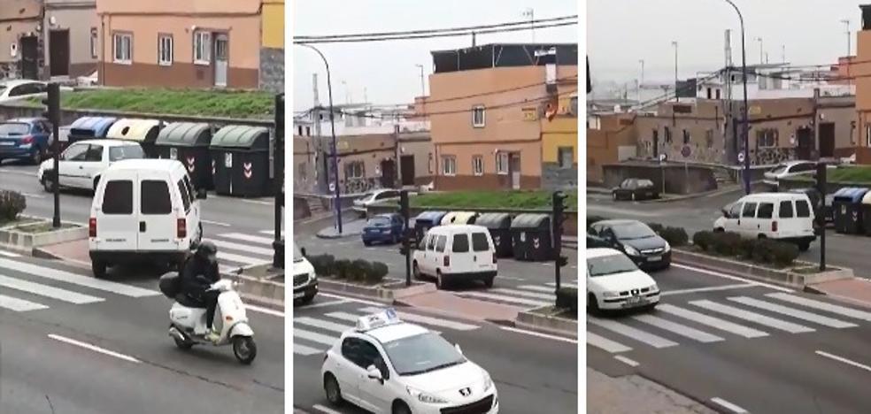 Cuatro meses de prisión por usar un paso de cebra en Badajoz para cruzar la mediana
