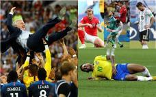 Balance del Mundial: la luz de Francia y el apagón de los favoritos