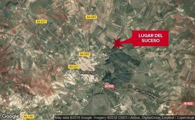 Fallece un hombre de 76 años al volcar el tractor con el que labraba unas tierras en Berlanga
