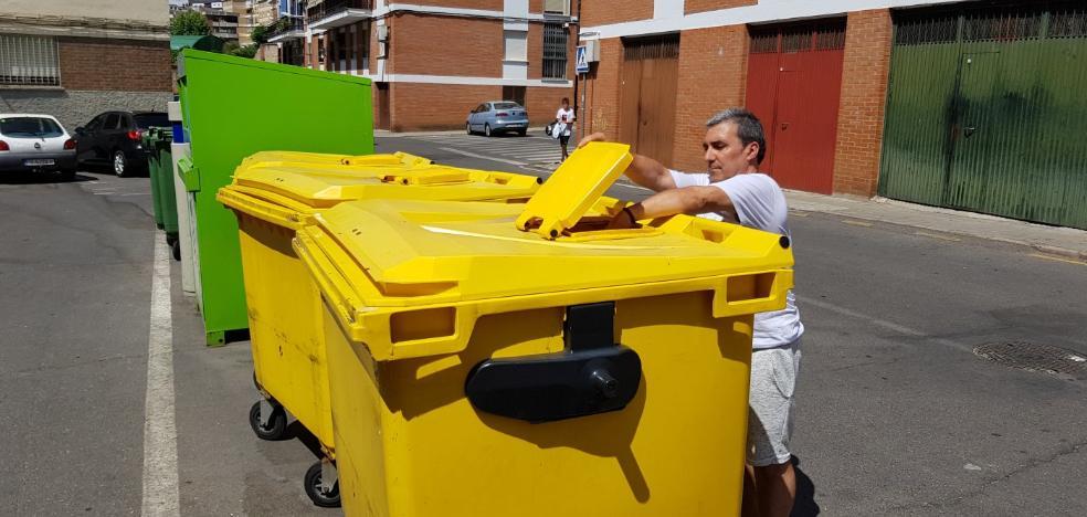 Plasencia eleva la cantidad de envases ligeros reciclados, pero baja la calidad