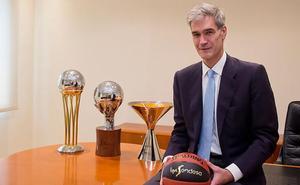 Antonio Martín, nuevo presidente de la ACB