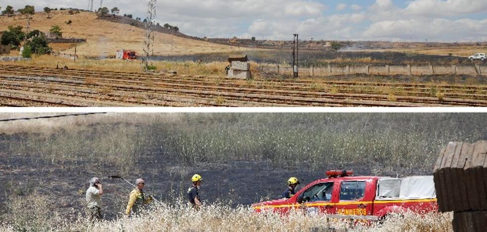 Preocupación ante el aumento de incendios en Cáceres que parecen intencionados