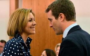 Cospedal sella su alianza con Casado a cuatro días para el congreso del PP