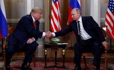 Trump y Putin prometen reencauzar las relaciones bilaterales