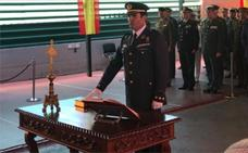 El coronel Jesús Caballero toma posesión como delegado de Defensa en Extremadura