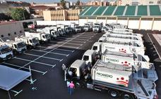 Promedio renueva una veintena de vehículos de recogida de basura