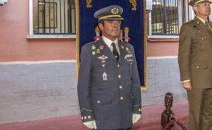 Jesús Antonio Caballero toma posesión como nuevo delegado de Defensa