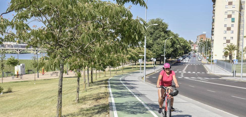 El Ayuntamiento de Badajoz construirá un carril bici desde el puente Real al de la Autonomía