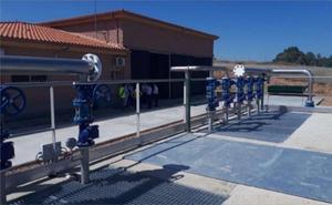 La nueva depuradora de Segura de León empezará a funcionar en agosto