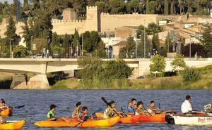 Proponen impulsar actividades acuáticas en el Guadiana a su paso por Badajoz