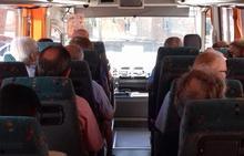 Una avería en el tren que une Puertollano y Badajoz obliga a los pasajeros a viajar en autobús