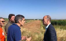 Desarrollo Rural se reúne con el alcalde de Guareña para iniciar la concentración parcelaria