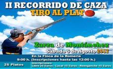 II Recorrido de Caza de Zarza de Montánchez el 5 de agosto