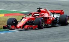 Los 'gremlins' de Mercedes se asocian con un Vettel imperial