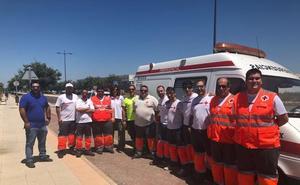 Un equipo de Cruz Roja Extremadura viaja a Cádiz para atender a migrantes