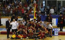 Oro para España, plata para Portugal y bronce para Italia