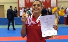 Dos medallas para Marta García