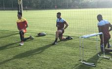 Sabas se muestra satisfecho pese a la derrota ante el Málaga