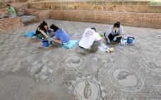 Los cursos del Consorcio de Mérida contribuyen a restaurar la Casa del Anfiteatro