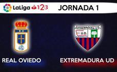El Extremadura arranca en Oviedo la Liga 123 y ante el Deportivo será su primer partido en casa