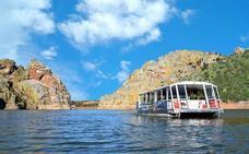 Un barco turístico navegará desde el 2 de agosto por la Reserva de la Biosfera de Monfragüe