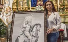 La Hermandad del Santo Entierro de Badajoz recupera la imagen de Santiago Apóstol