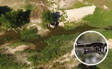 Drones para vigilar infracciones durante la campaña de riego en la cuenca del Tajo