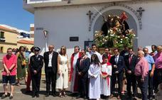 Procesión del patrón Santiago Apóstol en Villanueva