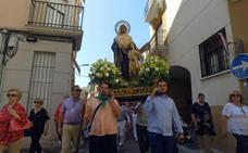 Procesión de Santa Ana y cierre de las fiestas de Villanueva