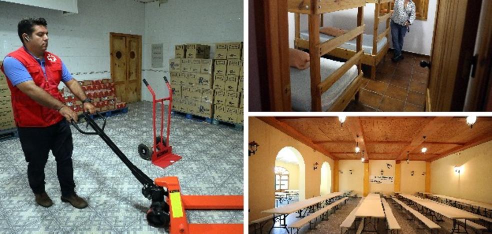 La Junta habilita el albergue de Mérida para la acogida temporal de inmigrantes