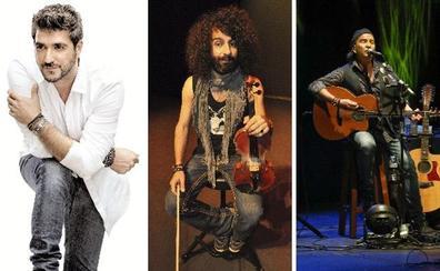Ara Malikian, Los Secretos y Orozco actuarán en agosto en Herrera del Duque