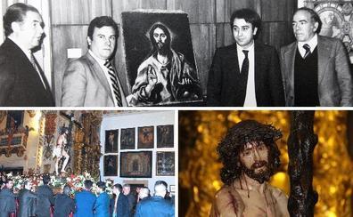 El 'milagroso' Cristo de Serradilla que es una copia y cuadros millonarios entre rejas